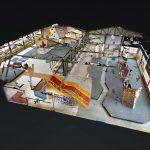 3D Boulderhalle